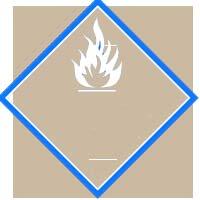 Gambar Simbol Bahan Kimia Dangerous When Wet
