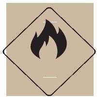 Simbol Bahan Kimia Gas Mudah Terbakar